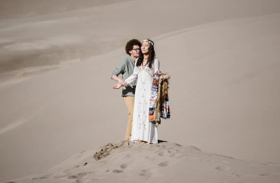 great sand dunes elopement from Colorado elopement photographer