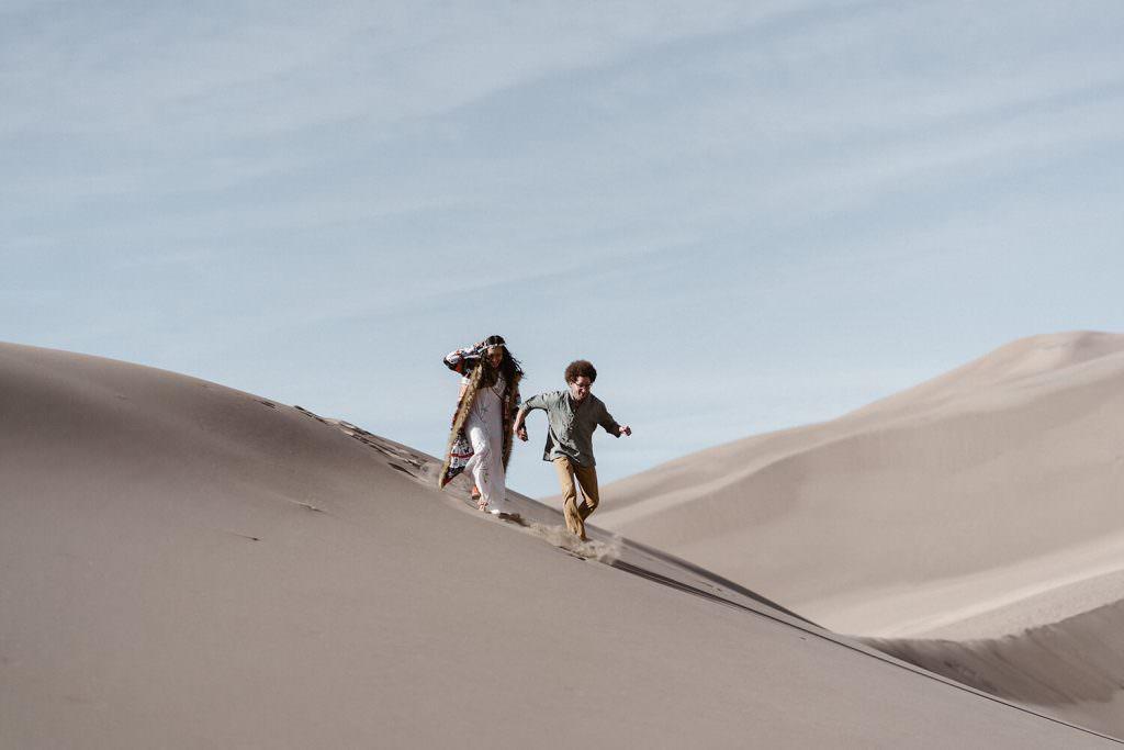 great sand dunes elopement from Colorado elopement photographer