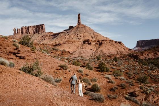 Utah elopement from Colorado elopement photographer