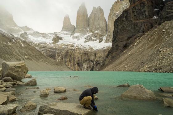 Three Peaks Patagonia Argentina Torres Del Paine