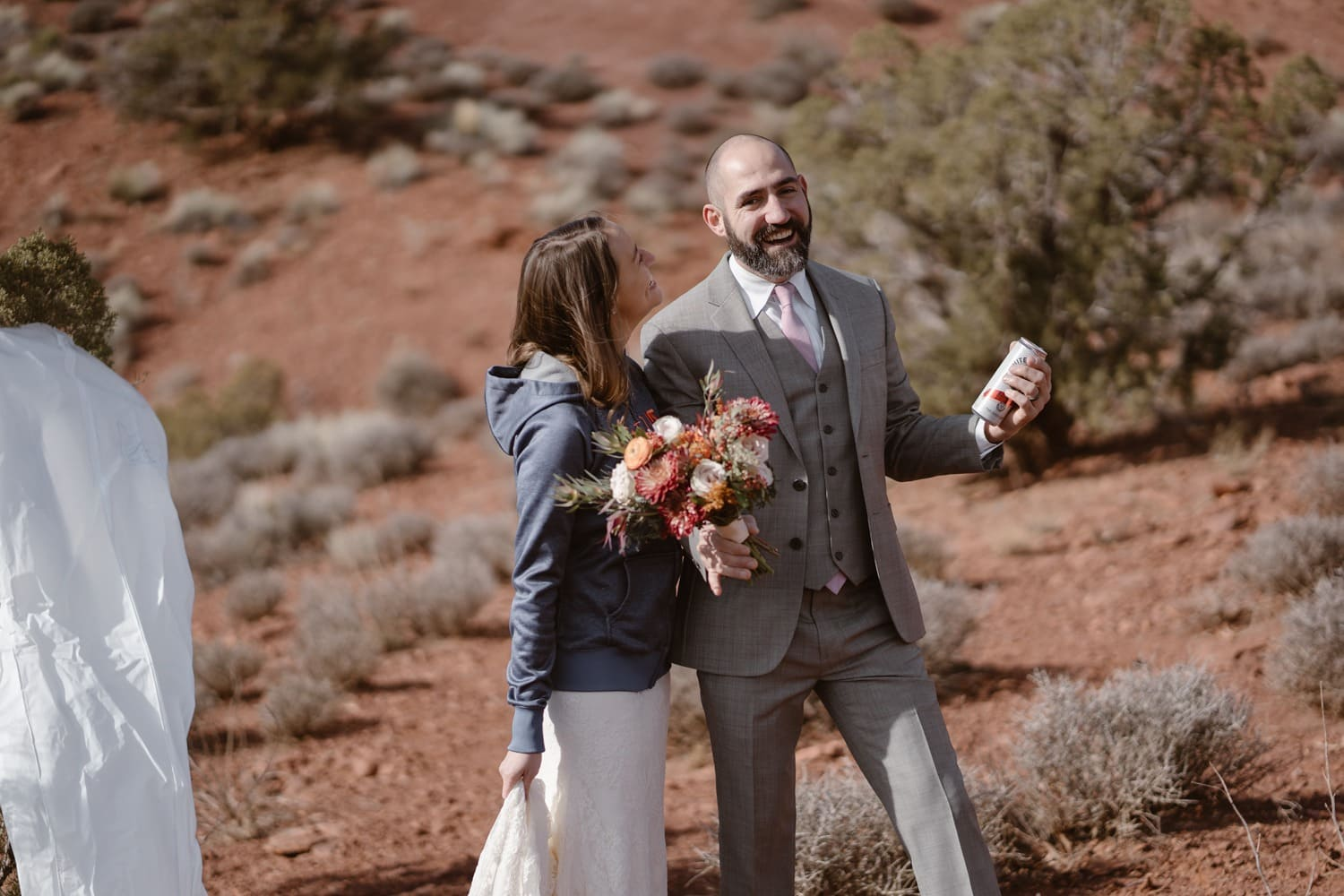 Moab Elopement Celebration Drinks Pack List