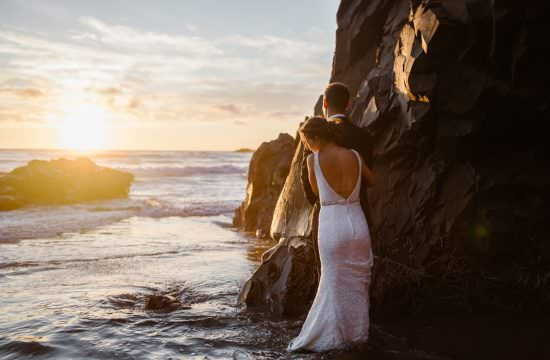 Cannon Beach Sunset Elopement
