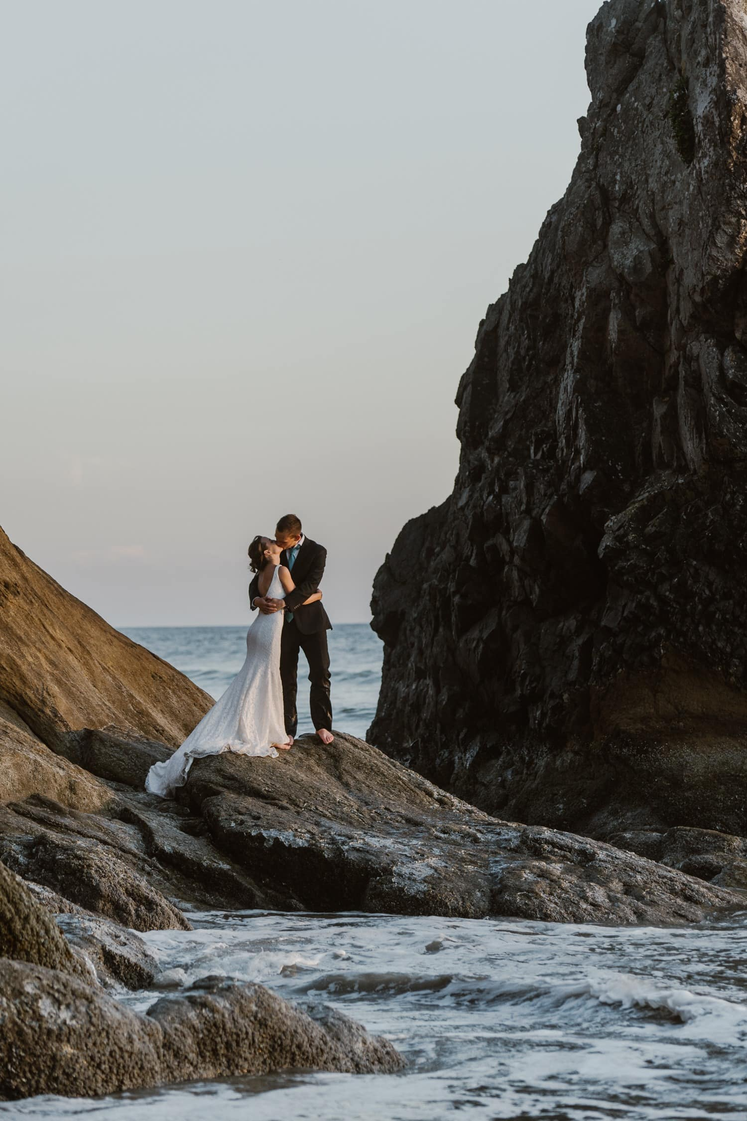 Cannon Beach Ocean Elopement