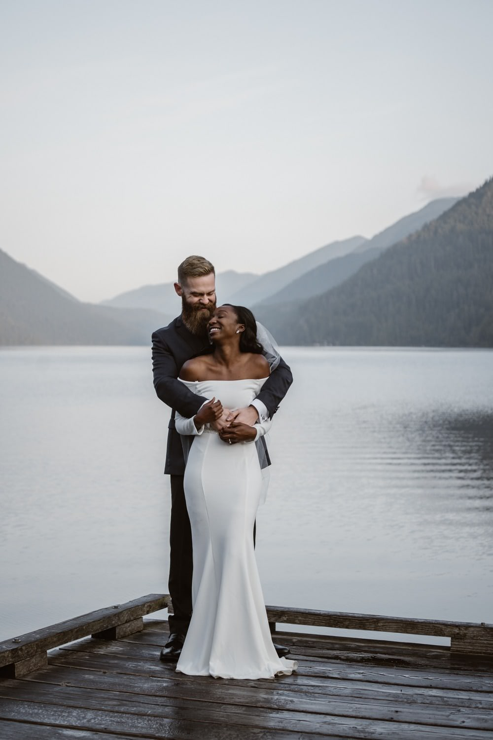 Lake Crescent Elopement