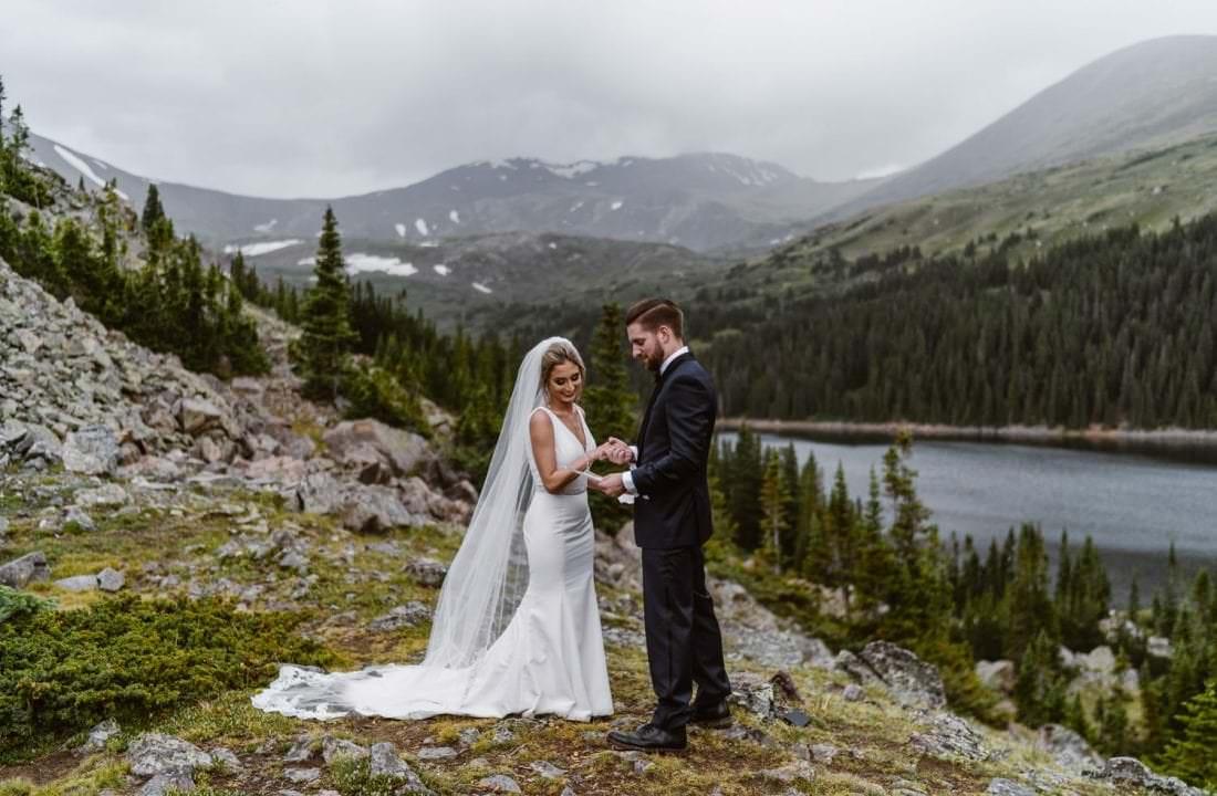 Bride and Groom Vow Ceremony Ideas