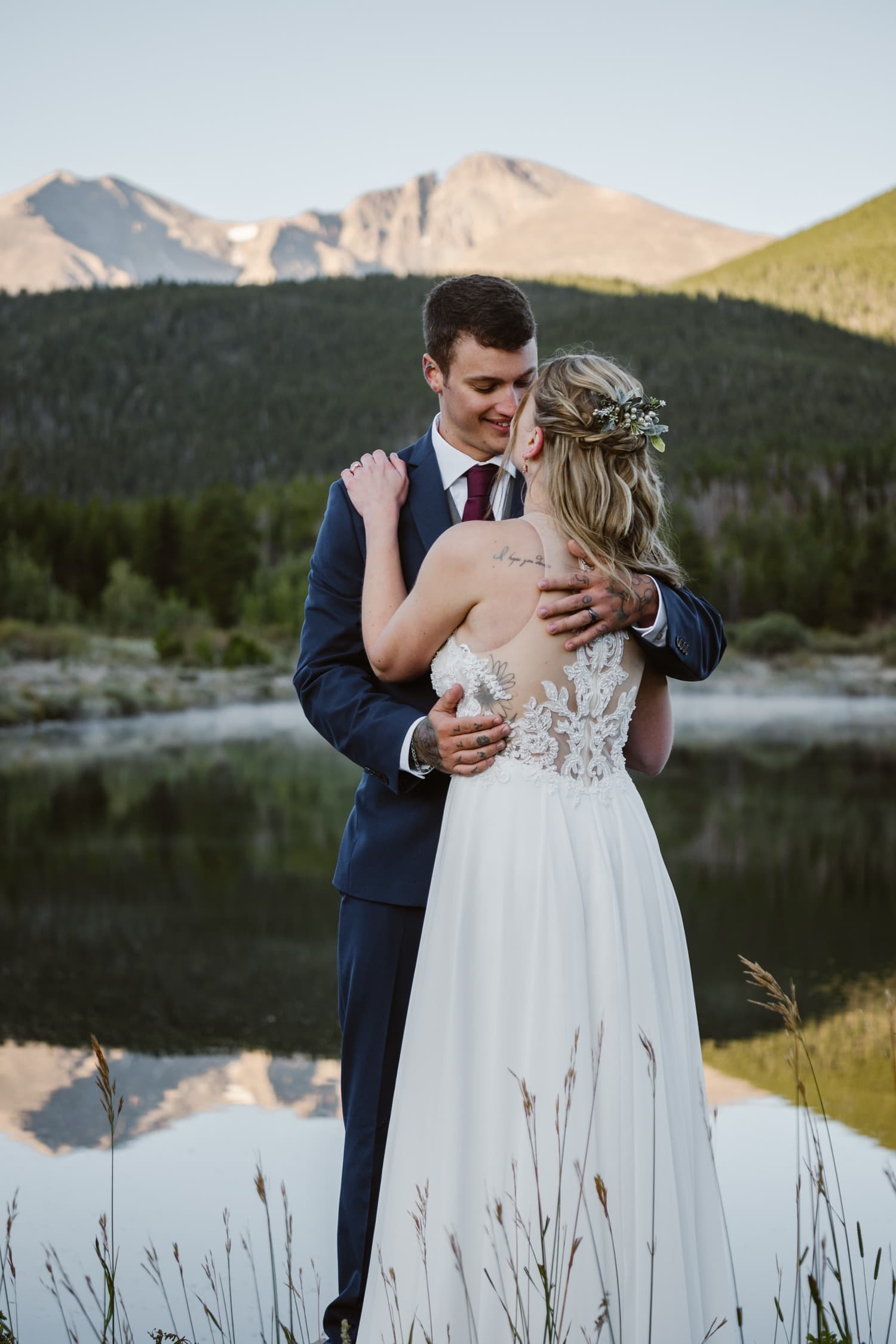Lily Lake Rocky Mountain National Park Elopement Location
