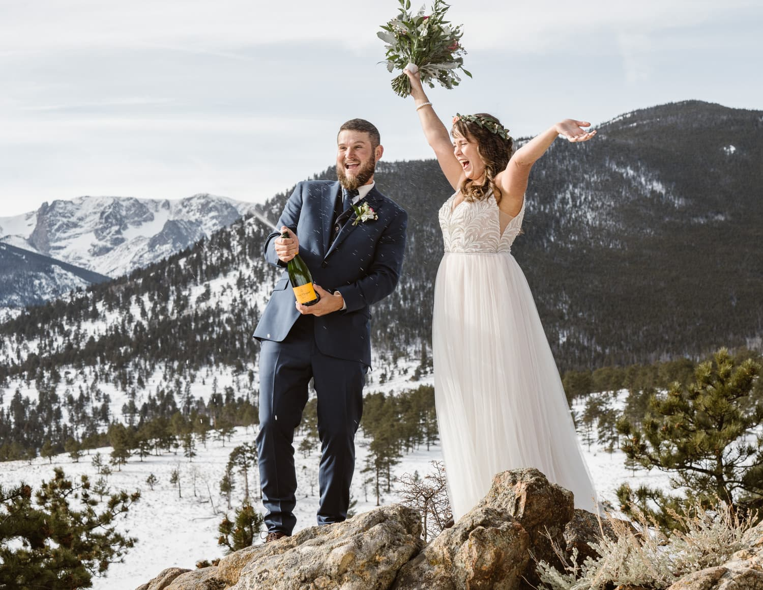 Estes Park 3m Curve Elopement Celebration