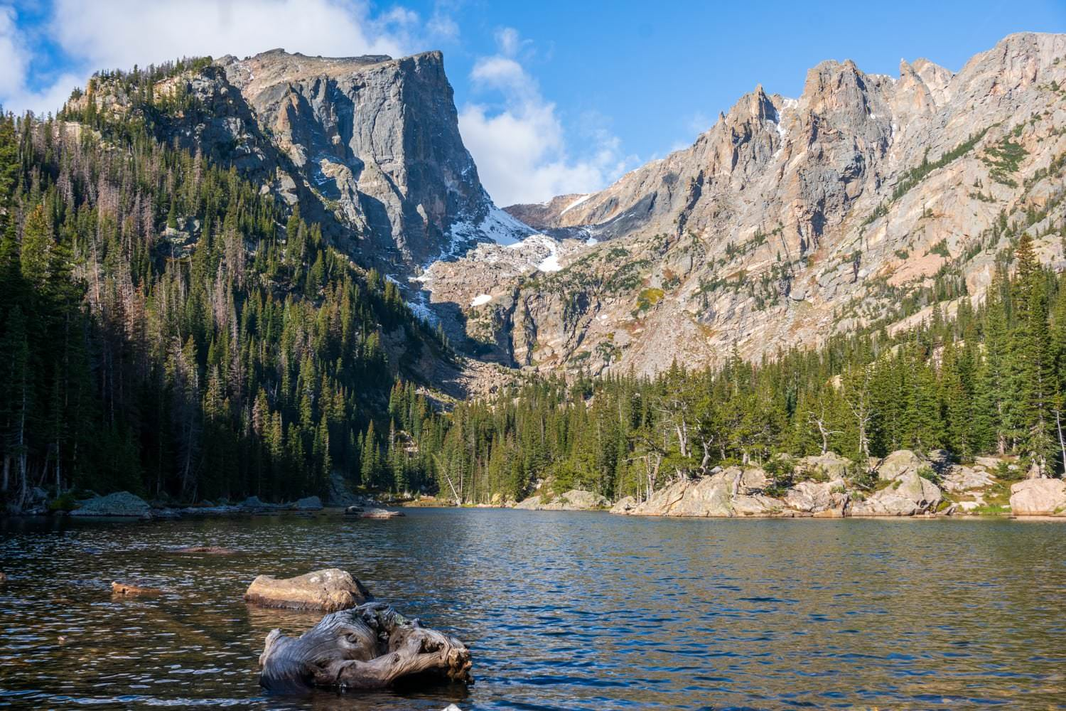Bear Lake Rocky Mountain National Park Elopement Location
