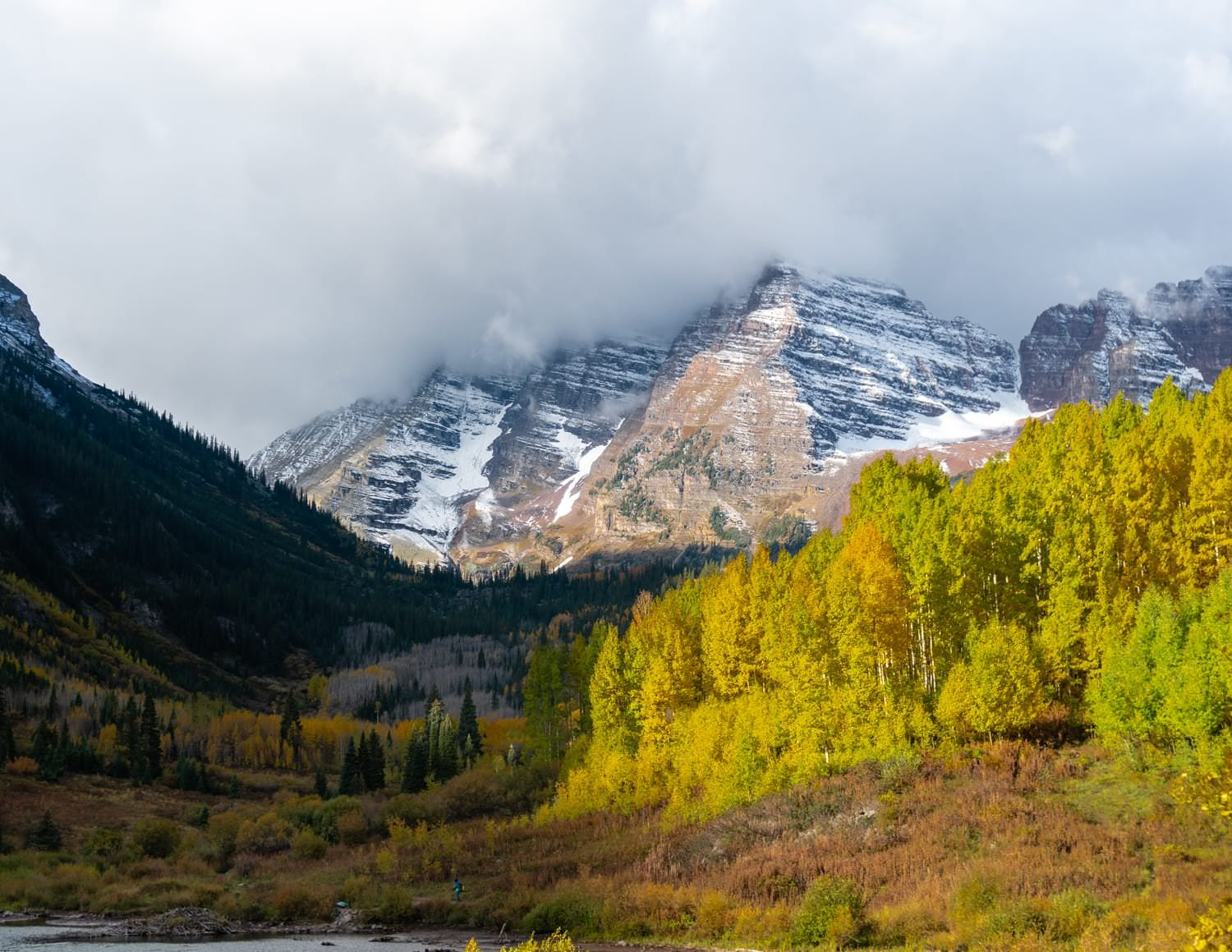 Best Places to Elope in Colorado Maroon Bells