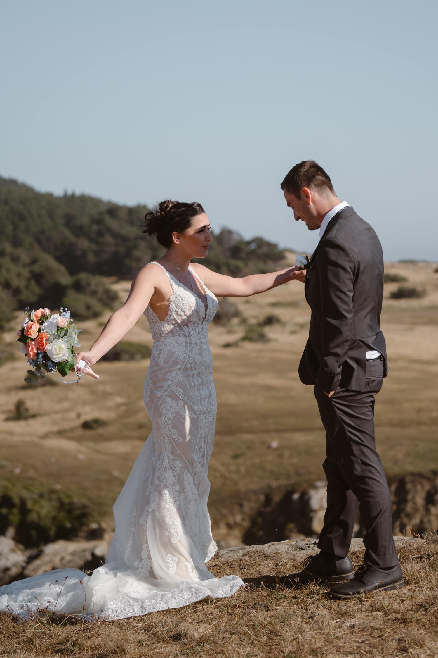 First Look Big Sur Elopement