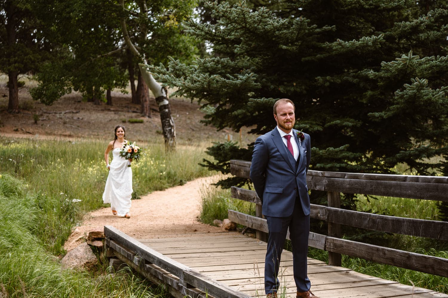 First Look Colorado Elopement