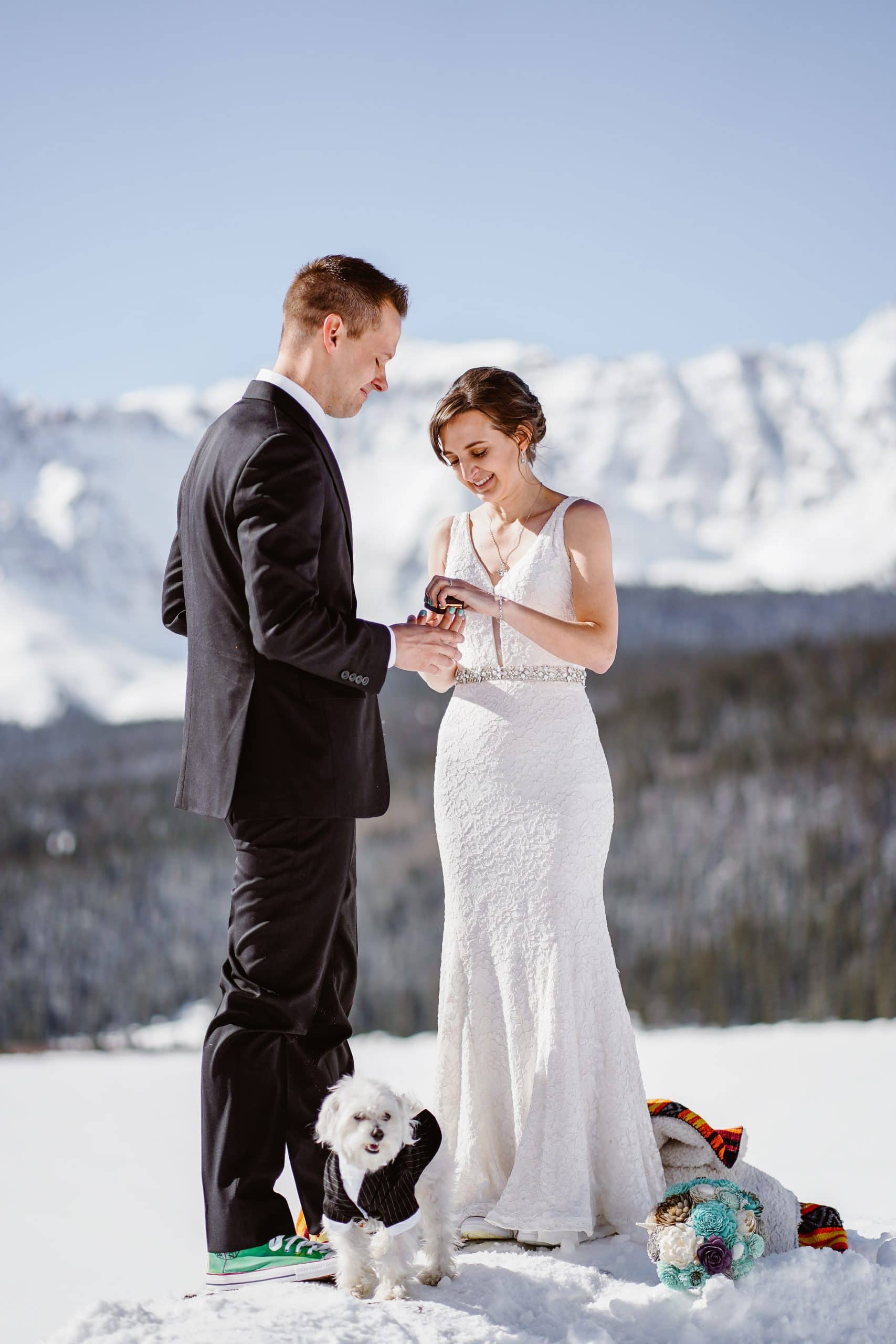 Ring Exchange Telluride Elopement