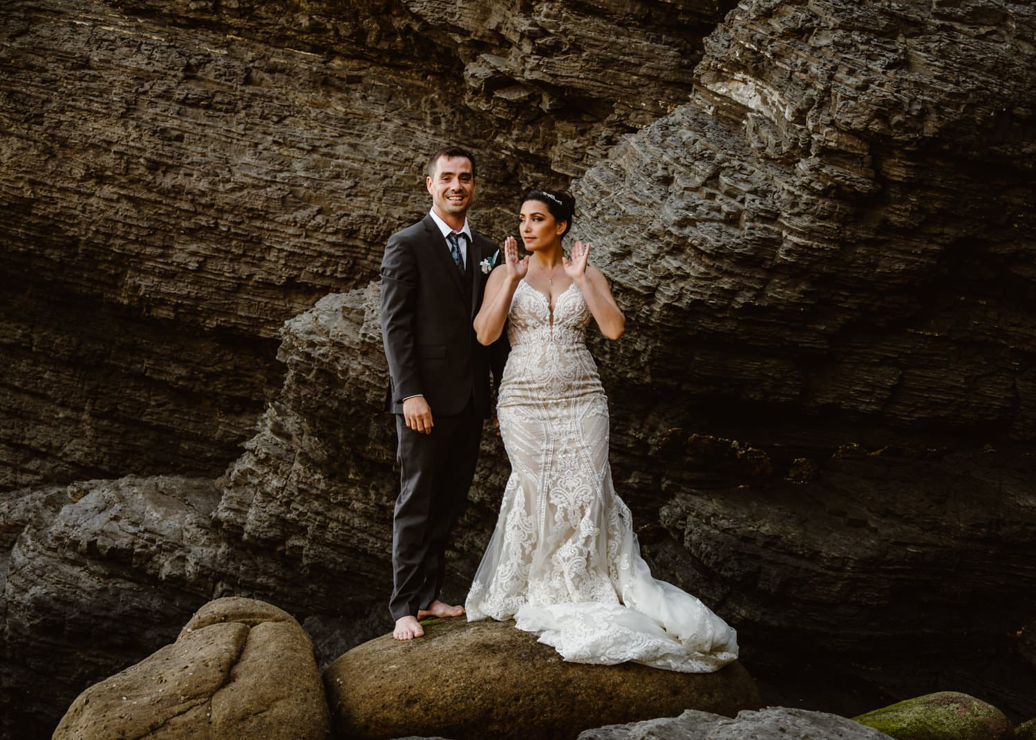 Elopement Definition Big Sur at Ocean