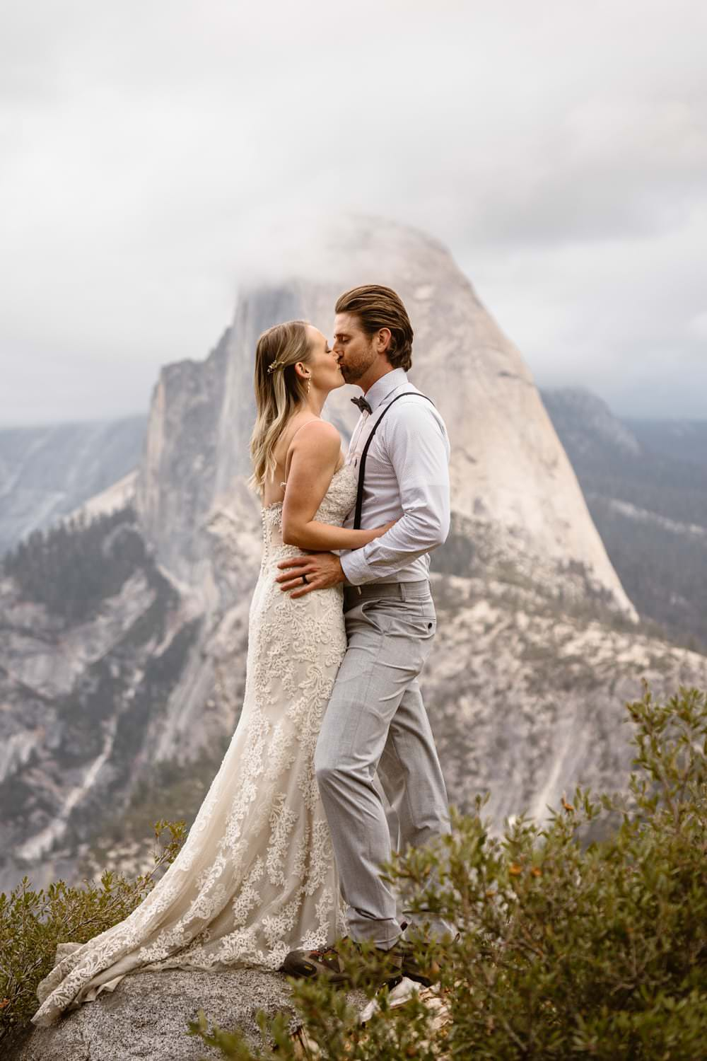 Glacier Point Elopement Yosemite