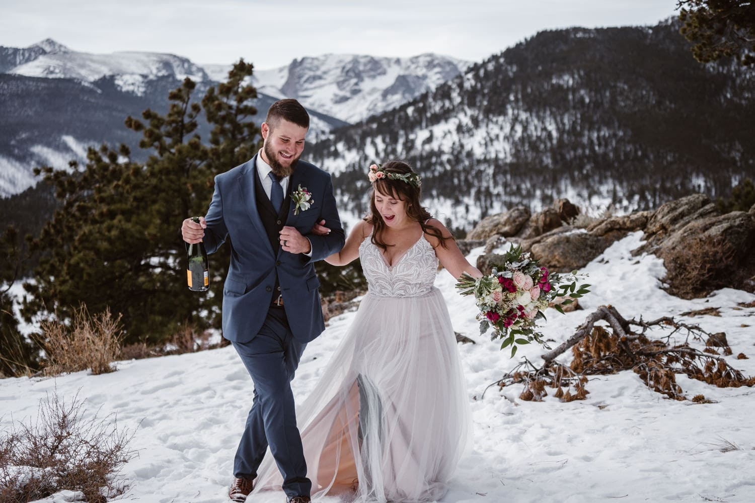 Rocky Mountain National Park 3m Curve Elopement
