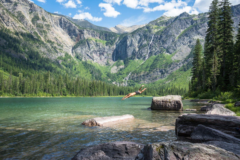 Avalanche Lake Glacier National Park Elopement Guide & Packages