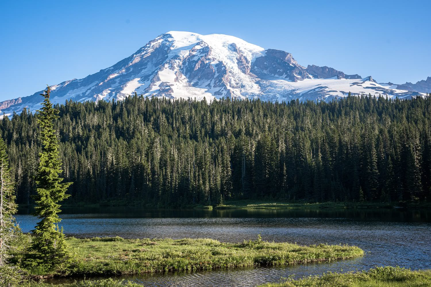 Mount Rainier Sunrise Elopement Packages