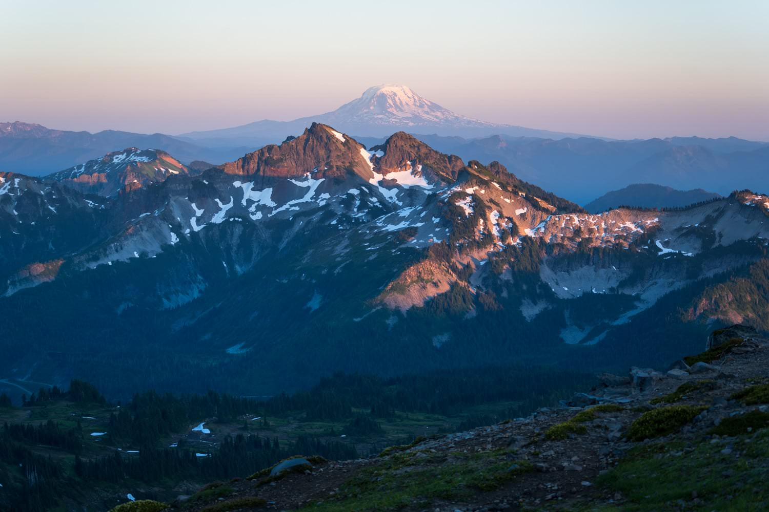 Mount Rainier Golden Hour Elopement Packages