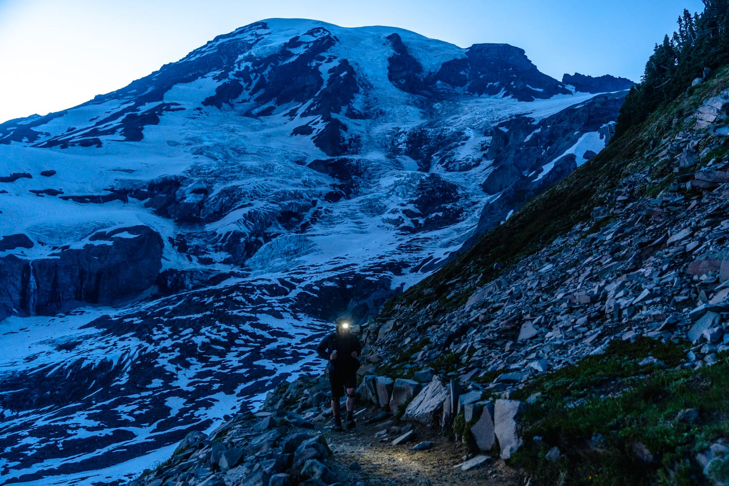 Mount Rainier Blue Hour Elopement Packages