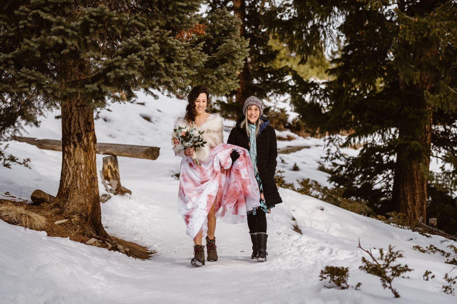 Eloping With Family - Breckenridge Processional