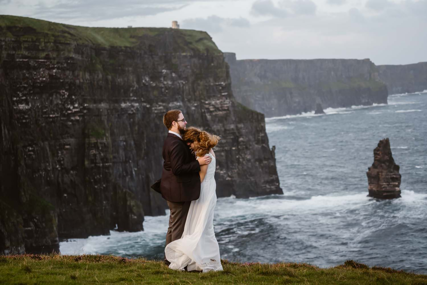 Eloping With Family - Ireland Elopement