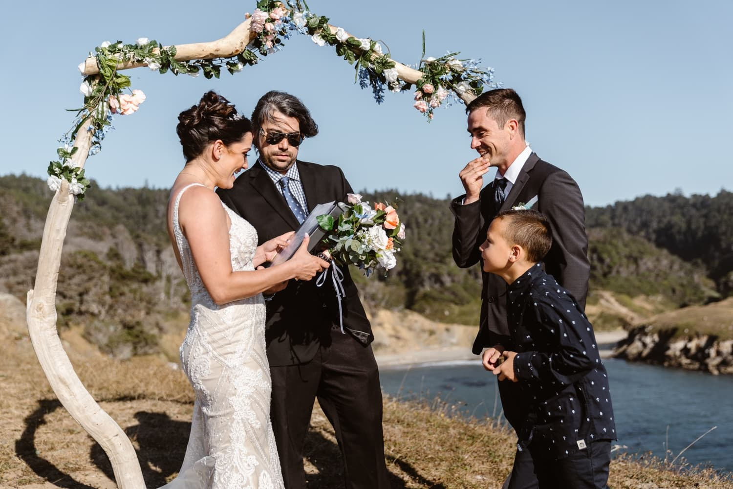 Eloping With Family - Big Sur Elopement