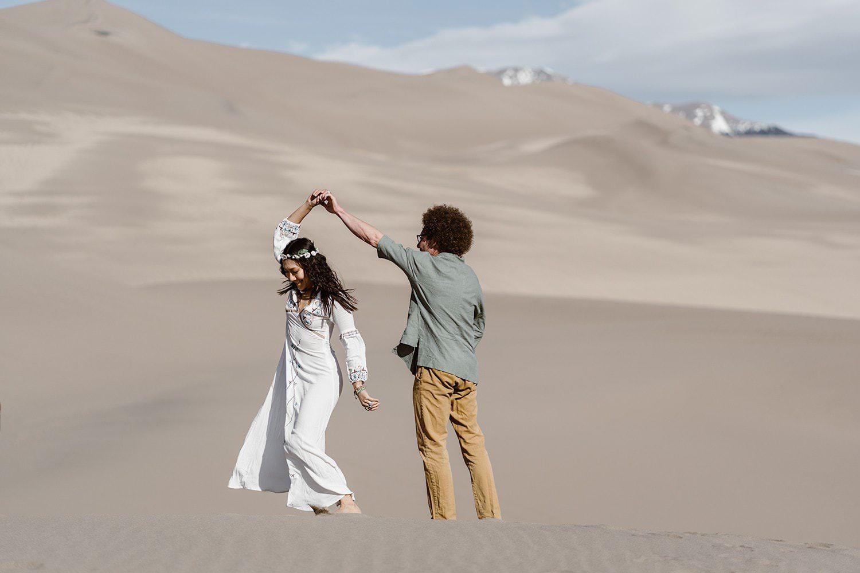 Announcing Your Elopement - Great Sand Dunes Elopement