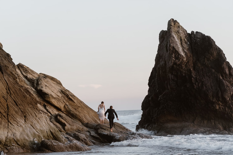 Announcing Your Elopement - Cannon Beach Elopement