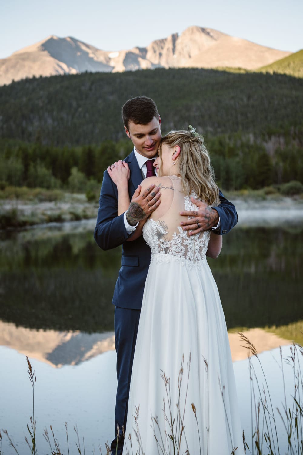 Announcing Your Elopement - Lily Lake Elopement