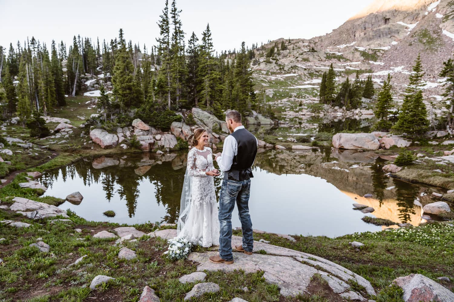 Vow Ceremony Colorado Mountain Elopement Packages
