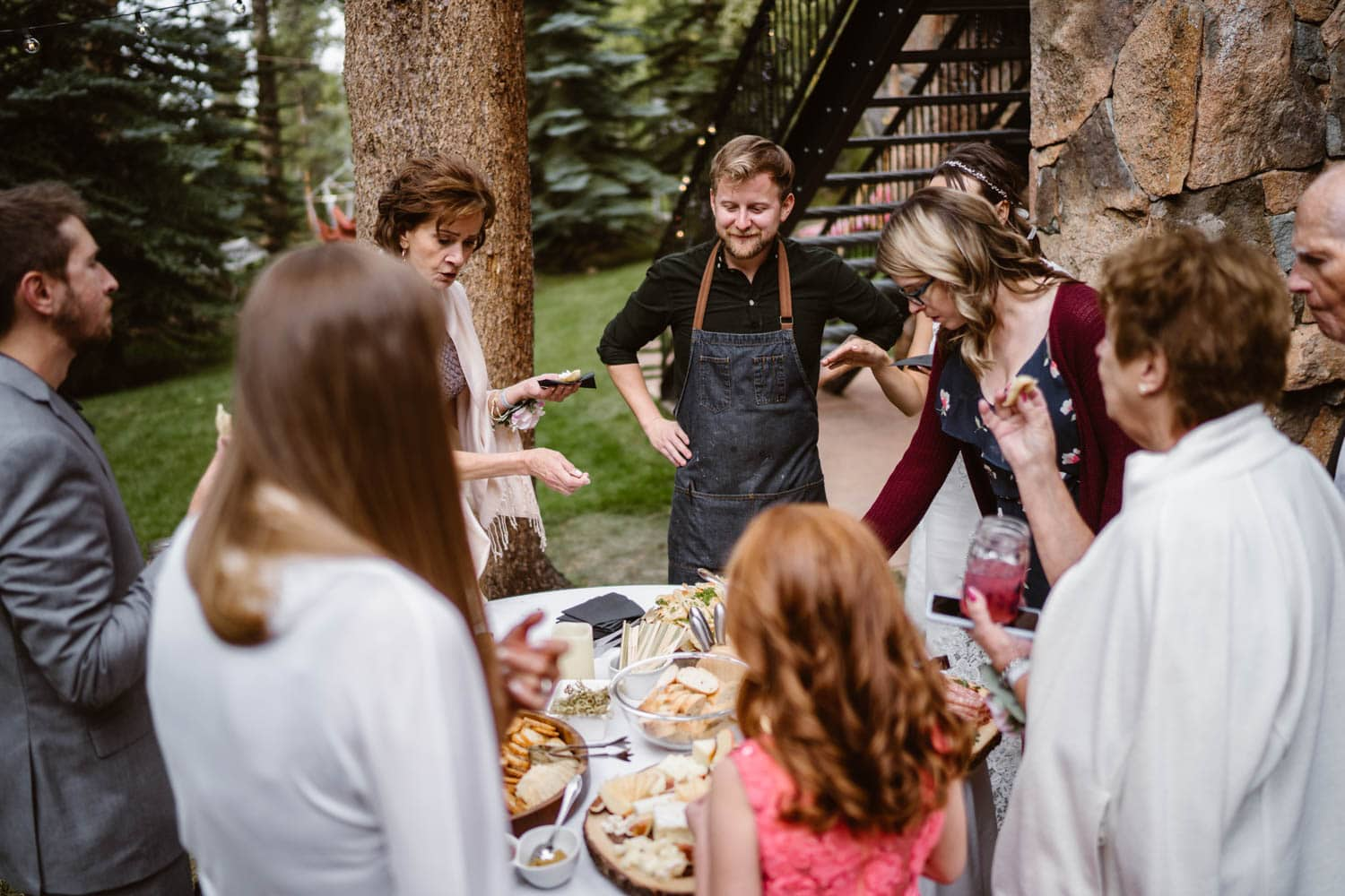 Chef at Colorado AirBnB Elopement
