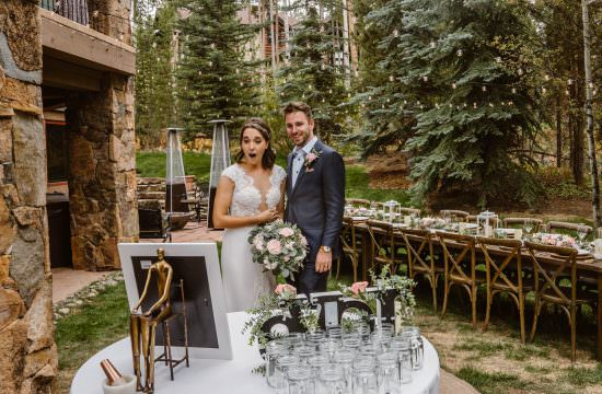 Bride and Groom Colorado AirBnB Elopement Guide