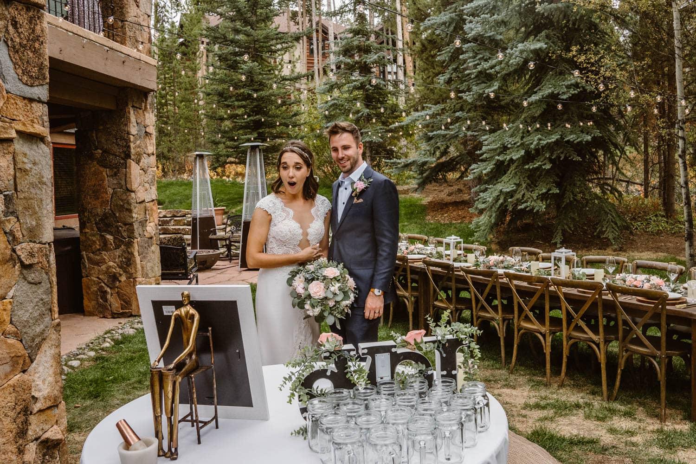 Bride and Groom Colorado AirBnB Elopement Guide