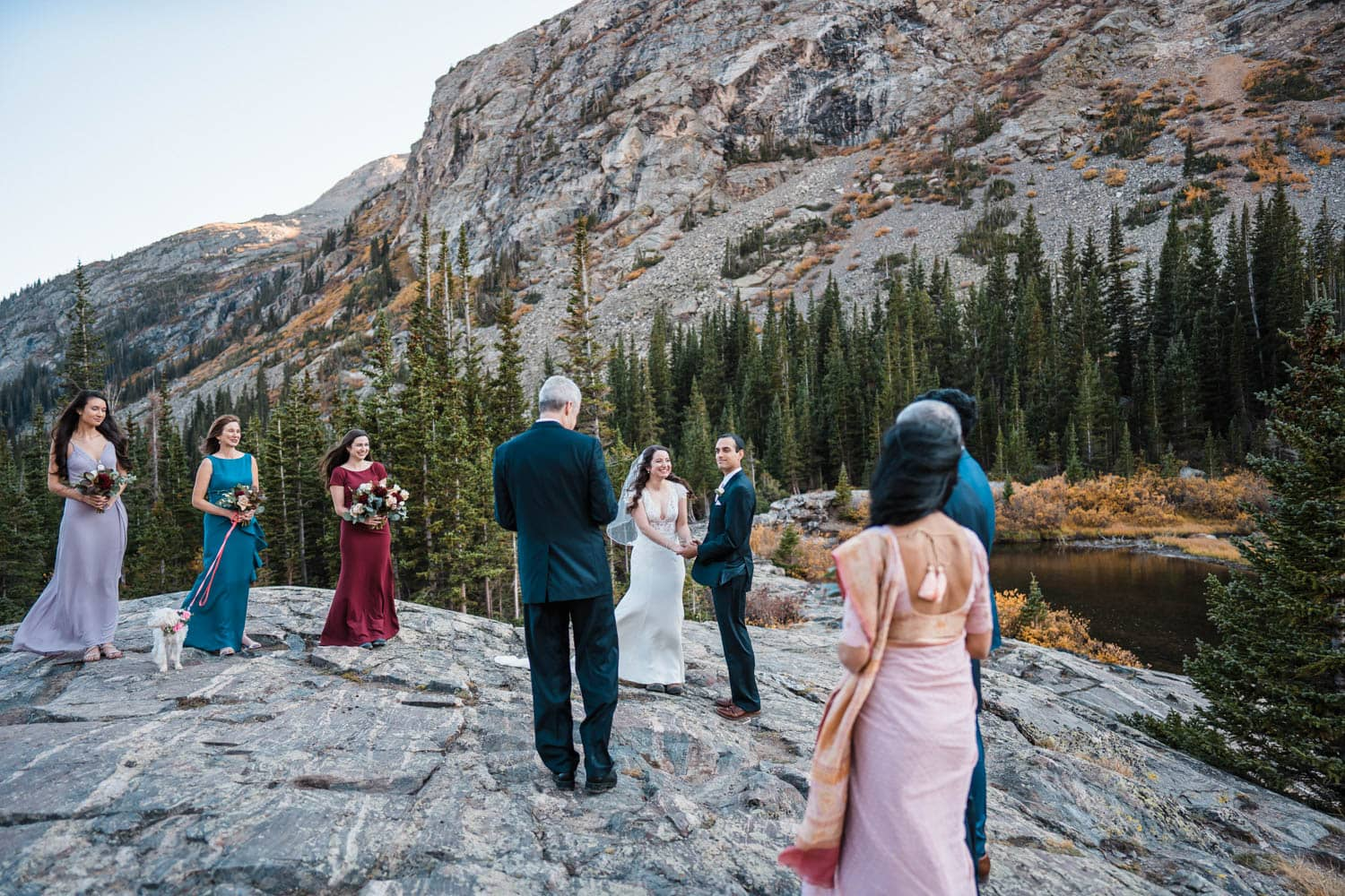 Vow Ceremony Breckenridge Elopement guide and Spots