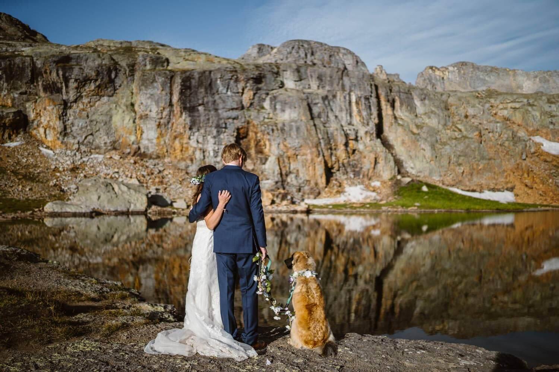 Bride and Groom Telluride Elopement Packages