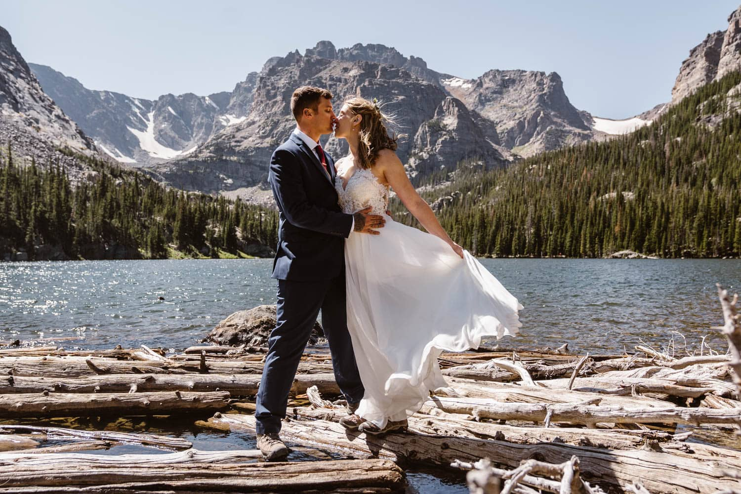 Best Places to Elope in Colorado Rocky Mountain National Park