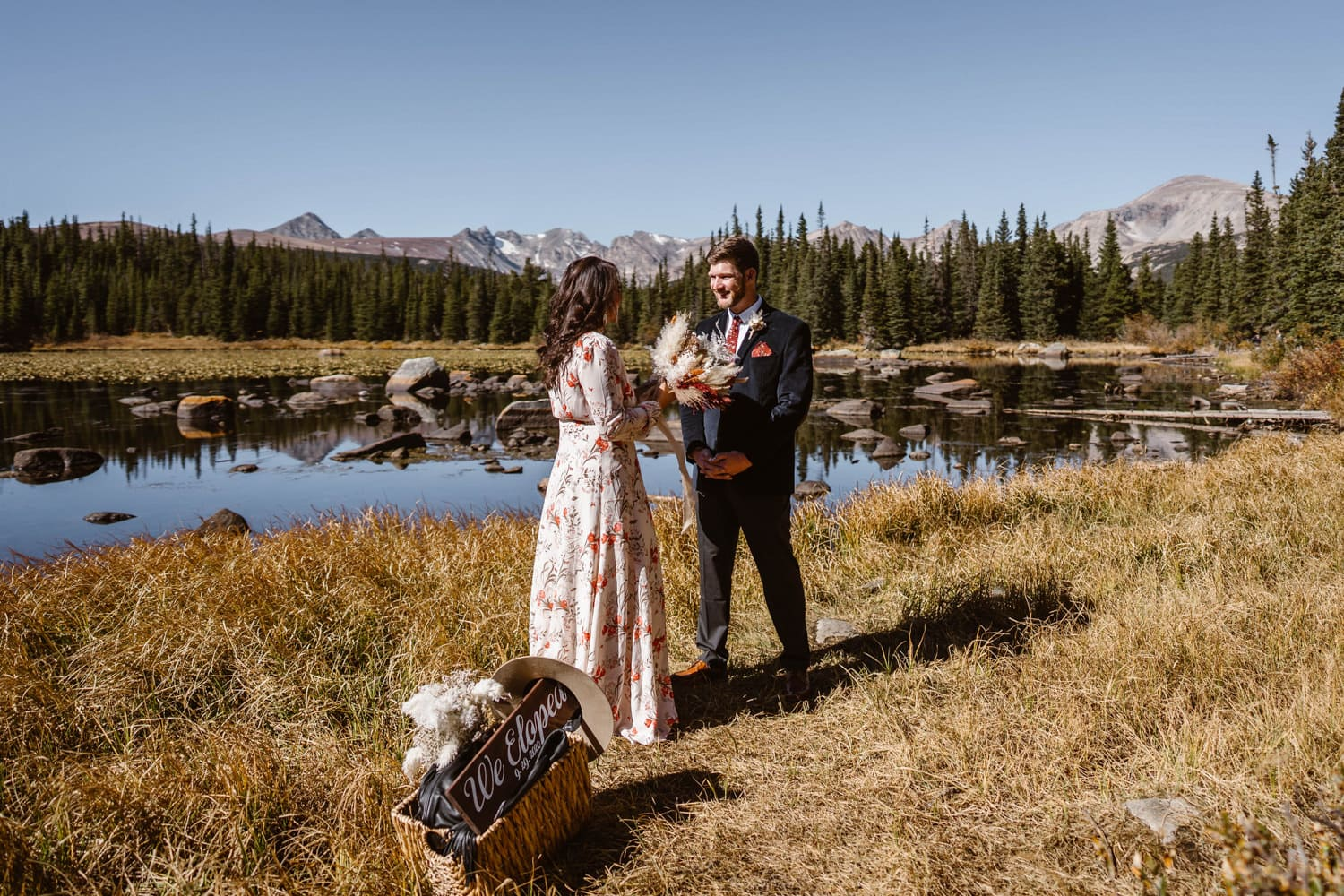Best Places to Elope in Colorado Brainard Lake