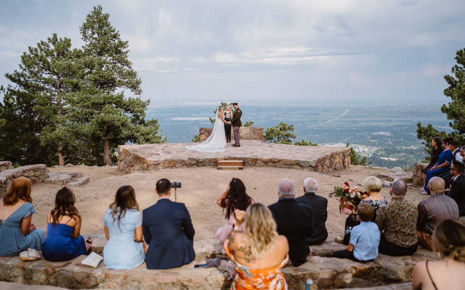 Best Places to Elope in Colorado Sunrise Amphitheater